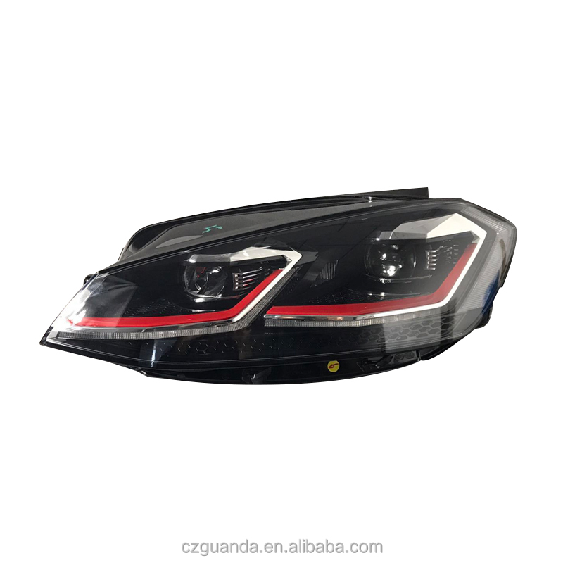 auto parts head light for golf mk7.5