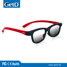 Fancy circular 3D polarized passive eyewear CP297G66 for the exciting movie