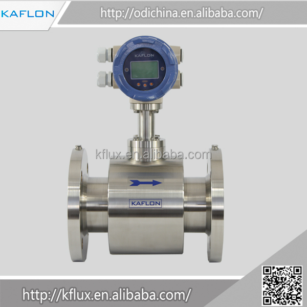 OEM electromagnetic flowmeter water flow meter injection 304 sanitary txtitle wine milk