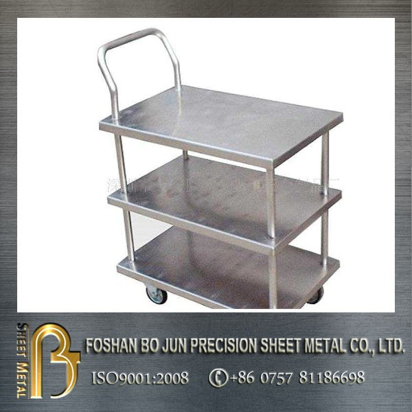 alibaba China custom high quality stainless steel handcart