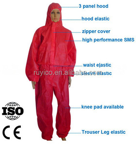 One Time Use SMS Workwear / Nonwoven Disposable Coverall