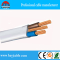 1.0mm1.5mm2.5mm4mm6mm10mm colored pvc copper clad steel wire/flat cable/factory cables prices