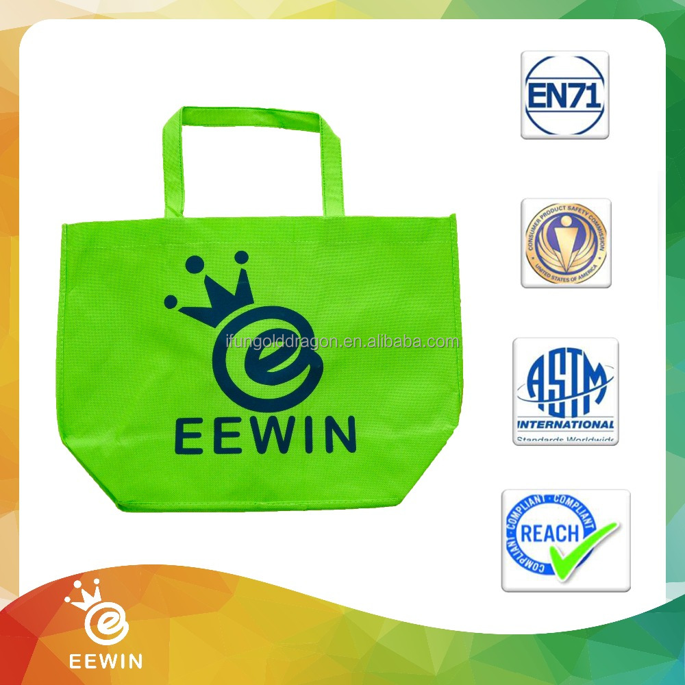 Small Reusable Custom Logo Non woven Fabric Tote Shopping Bag