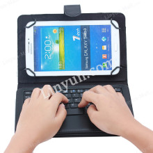 "Hot Selling Folio Universal Detabchable ABS Keyboard Case For windows IOS Android 7"" 8"" inch Tablet"