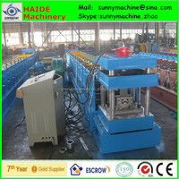 Factory pasture fence columes roll forming machine with ISO , CE certification