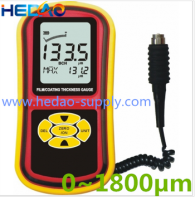 China wholesale ultrasonic plastic dry film thickness gauge meter for sale