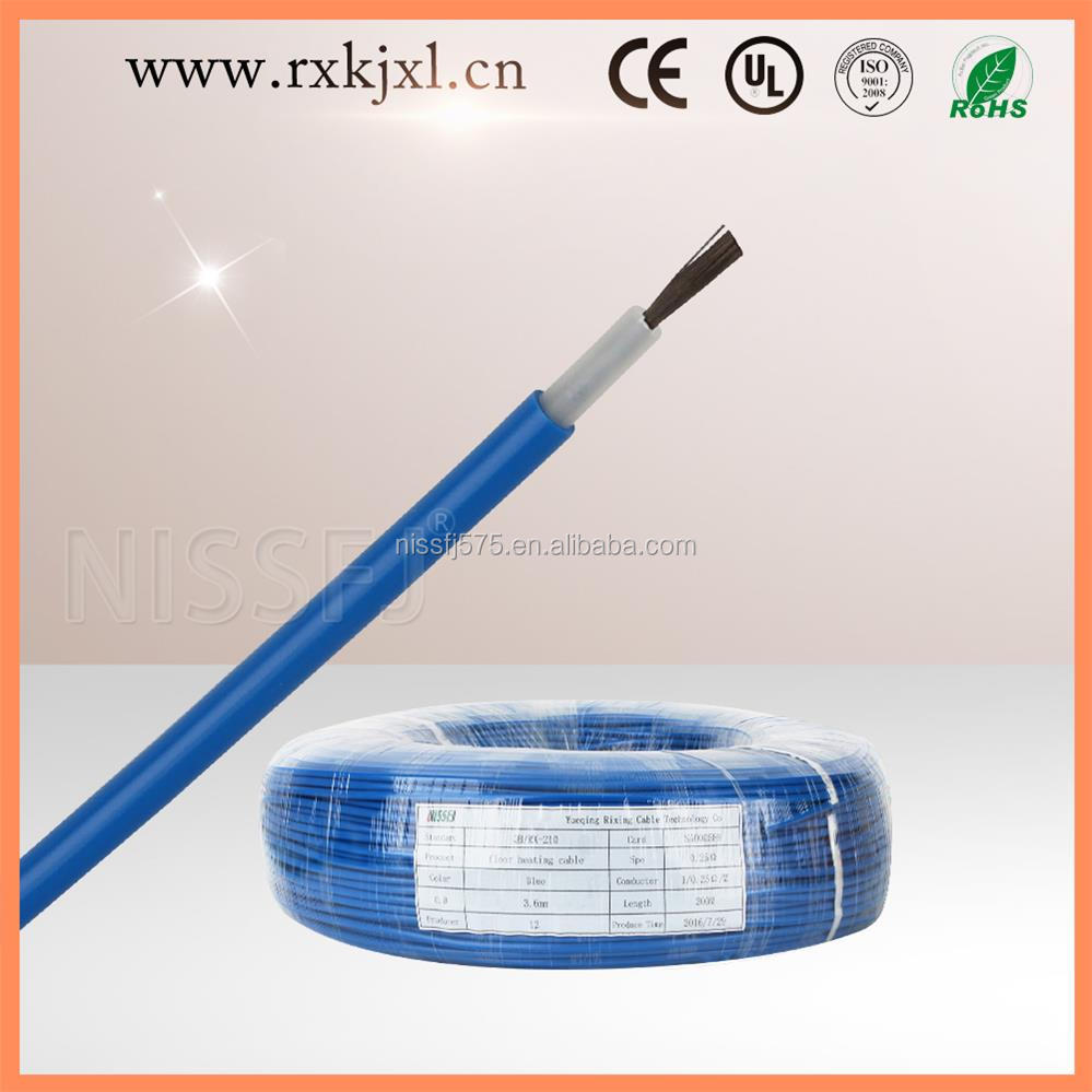 House use electric grid underfloor heating cable for floor heating