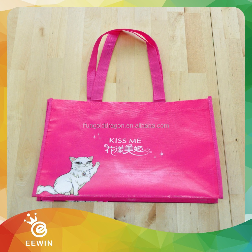 Custom China Suppliers ECO Laminated PP woven Shopping Bag