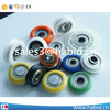 Factory price 2016 small roller wheel small roller for small plastic wheels