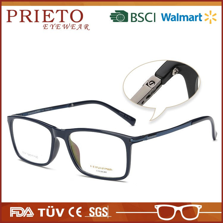 Fashion latest trendy spectacles frame with CE certificate
