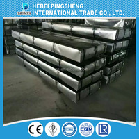 Ppgl Colour Coated Corrugated Roofing Aluminium Steel Sheet / Coil