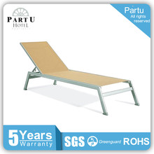 Hot Selling Aluminum and Portable Outdoor Reclining Folding Beach Chair