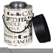 Custom paper box packaging cylinder candle box packaging