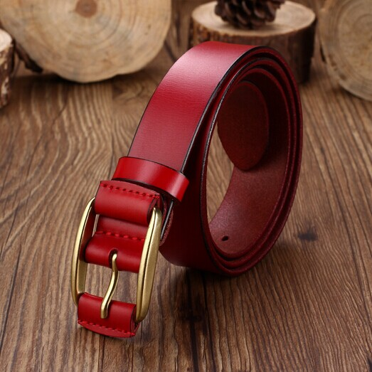 2014 3color high quality genuine leather name branded belts