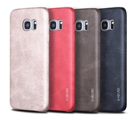 X-Level New PU Leather Phone Case Protective Back Cover For Samsung S7Edge G9300 CA1153