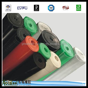 rubber sheet roll of rubber lining pure gum natural rubber sheets of abrasion with 6mm thickness