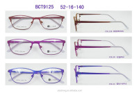Latest Dreamcolor Full Rim for ladies latest Eyeglasses Spectacle frames in Be-titanium High Quality Italy designed