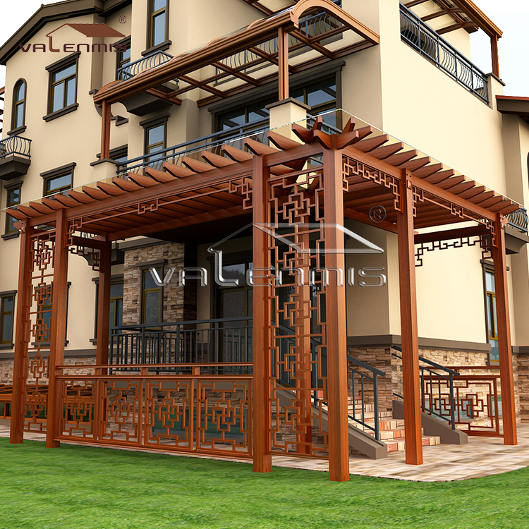 Aluminum Alloy Frame Grape Trellis/pavilion/house