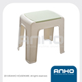 Simple square plastic stacking stool
