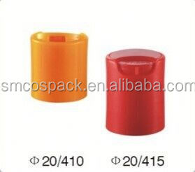 24/410 new design plastic double wall disc top cap for shampoo