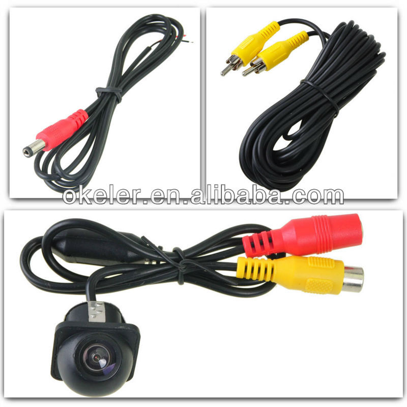 Mini 170 Deg Wide Angle Waterproof Car Rear Reverse Backup Parking View CMOS Camera 7 LED