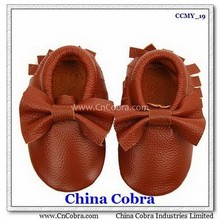 soft sole leather baby moccasins shoes without the characters on them with fringe