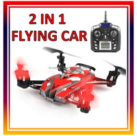 Flying car 2 in 1 8 channel 6 axis gyro Rc Quadcopter Helicopter