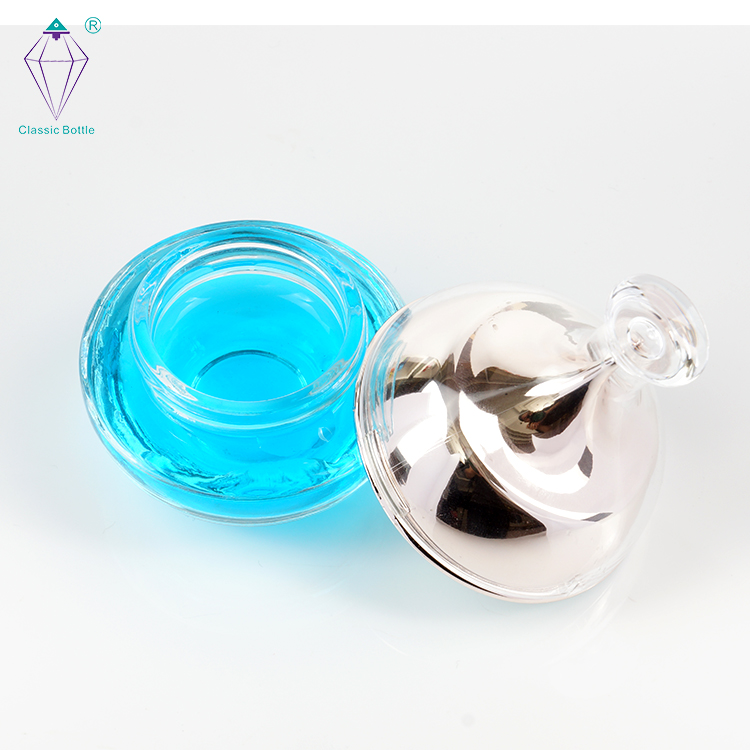 face essential oil cosmetic packaging glass spary bottles with plastic lid