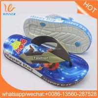 fujian Children colorful plastic flip flops shoes wholesale w769