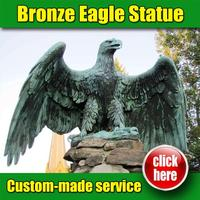 High Quality Eagle Statue in house with Customized Service