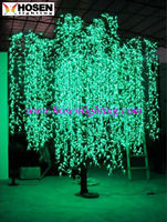 outdoor LED Willow tree light / led weeping willow tree lighting