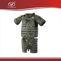 Military Level IV Full Body Armor bulletproof Suit with plate for police Kevlar bullet proof vest