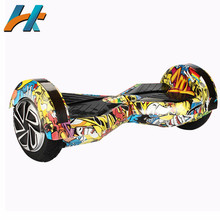 LITHIUM BATTERY BALANCE SCOOTER ELECTRIC HOVERBOARD WITH LIGHT AND STEREO BLUETOOTH