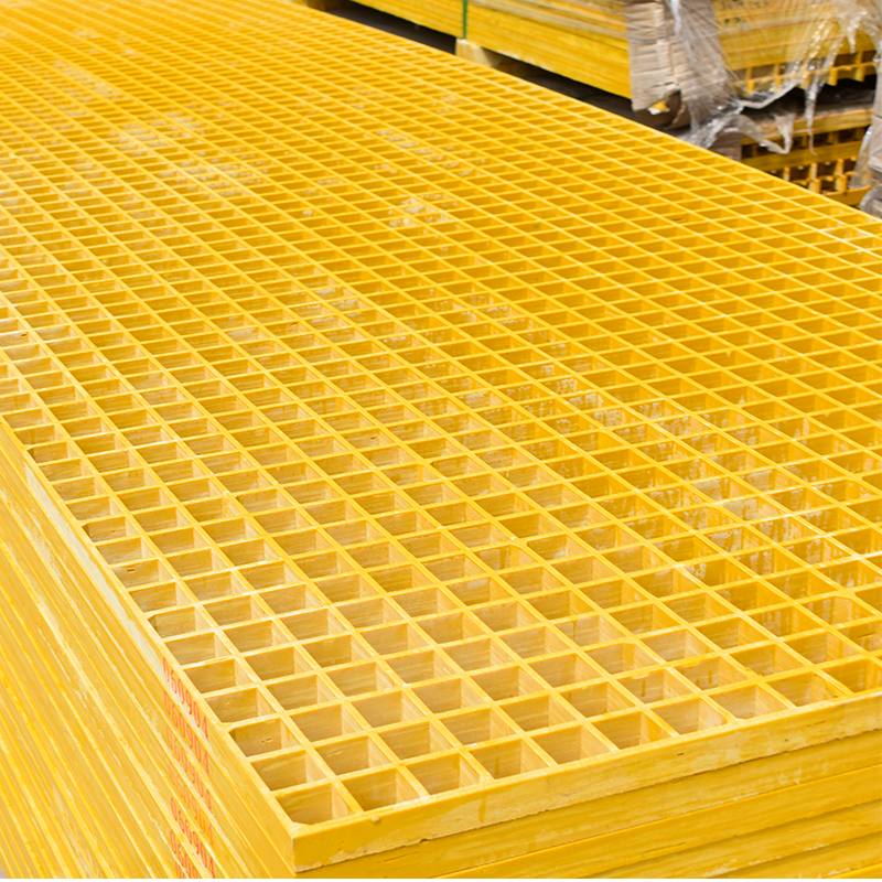 Drain Screen Heavy Duty Frp Grill , Frp Plastic Floor Grating