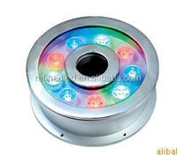 9W 12V ip68 waterproof led ring light for fountains