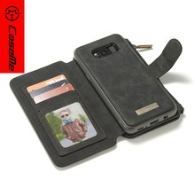 2017 Wholesale Oem Design Wallet Flip Case Android Phone PU Leather Mobile Phone Case For Galaxy S8 plus