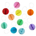 "Small Tissue paper honeycomb balls 2"" 5cm brithday party table decoration"