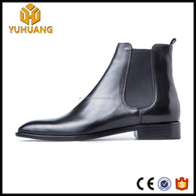 Custom Fashion Martin boots Genuine leather Chelsea boots handmade goodyear welted