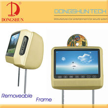 removable headrest DVD player