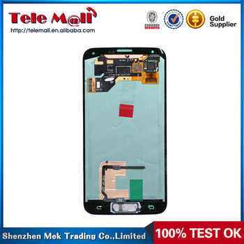 12 Months guarantee 100% pledge high quality replacement lcd for samsung galaxy s5 lcd screen