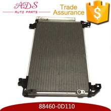 Efficient Auto Airconditioning Condenser Assy for Toyota Vois OEM:88460-0D110