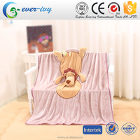 2 In 1 lion shape Air Condition Blanket for kids