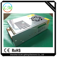 Manufacturer outlet waterproof power supply DC 24V 250W