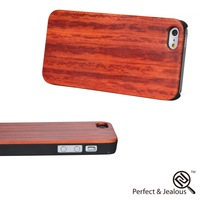 Top quality Natural wood oem wood+pc waterproof cell phone case for iphone5