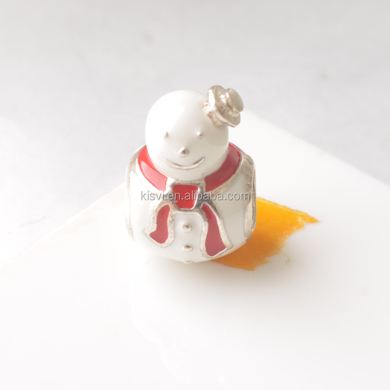 alloy jewelry snowman pendant wholesale for Christmas