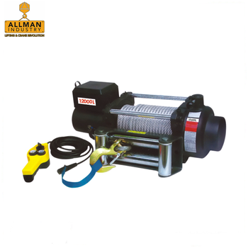 ALLMAN CE approved 5000lbs 6000lbs 8000lbs 10000lbs 12V electric cable winch