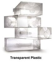 clear hard plastic boxes
