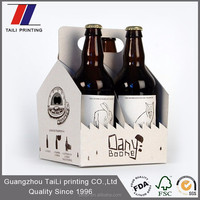 New design paper beer packaging box wholesale