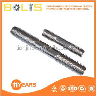china studs bm=1.25d double end threaded stud