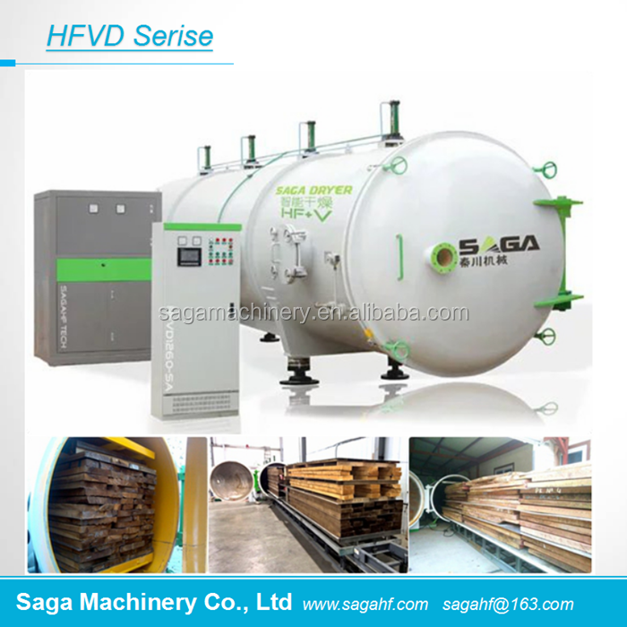 HFVD80-SA RF Vacuum Machines Heating <strong>Wood</strong> Drying Kilns For Sale